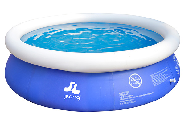 Piscina hinchable mar n blue 240x63cm outlet piscinas - Depuradora piscina hinchable ...