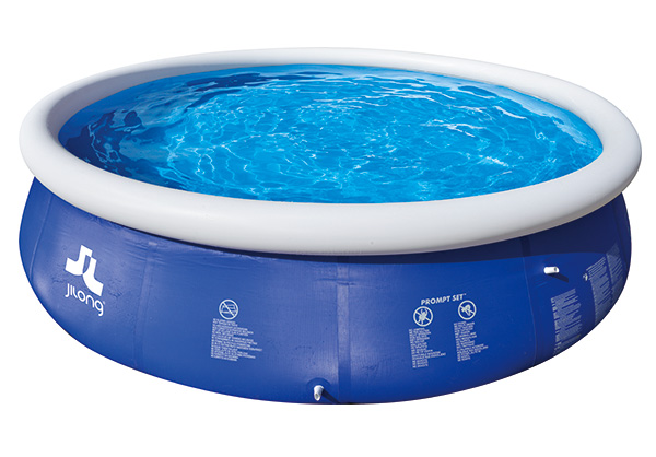 Piscina hinchable mar n blue 360x90cm outlet piscinas - Depuradora piscina hinchable ...