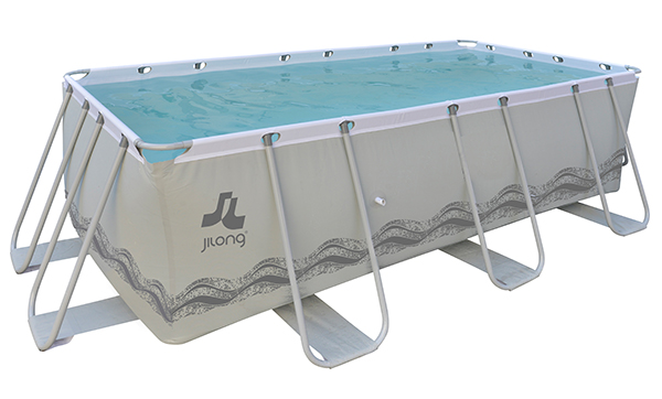 Piscina passaat grey jilong 4x2x0,99 elevada de pvc