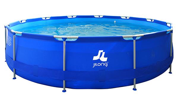 Piscina sirocco blue 450 x 90 cm outlet piscinas for Piscina h 90