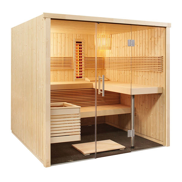 sauna panorama large kombi outlet piscinas. Black Bedroom Furniture Sets. Home Design Ideas